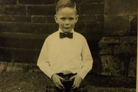 Celebs support Barnardo's with childhood pics - via Parentdish.novelist ian rankin