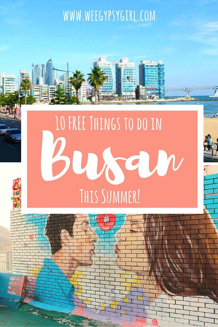 10 Free Things To Do In Busan This Summer Reise Inspiration Sudkorea Reisen