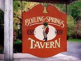Boiling Springs Tavern, Boiling Springs, PA - love their pecan-crusted chicken
