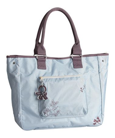 61442973aa4f Take a look at this Ashley Blue Sidamo Versa Diaper Bag by okiedog on   zulily today! 79.99