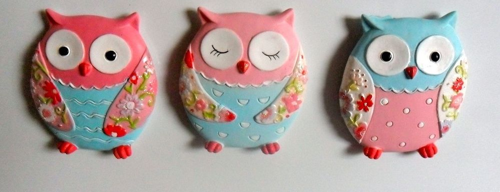 Super cute owl magnets.  www.exquisitegifts.co.nz  find us on facebook