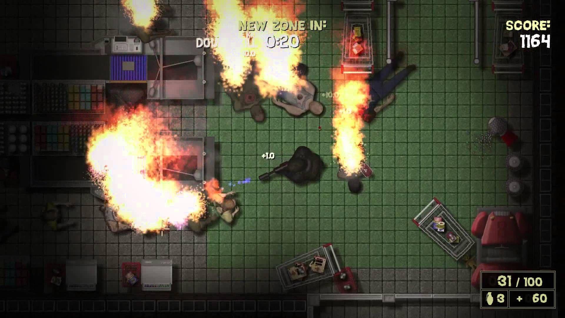 Game Maker Top Down Shooter Игры