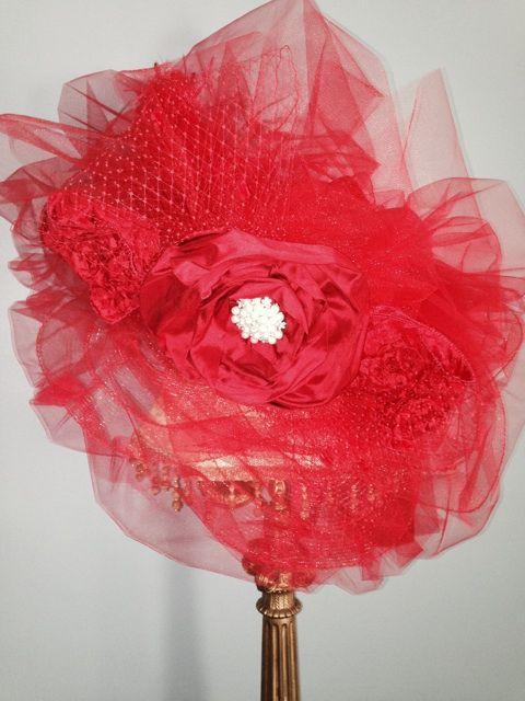 Kentucky Derby Hat 2014 by Ruby Rose Pearls Inc. #rubyrosepearlsinc #derbyhat