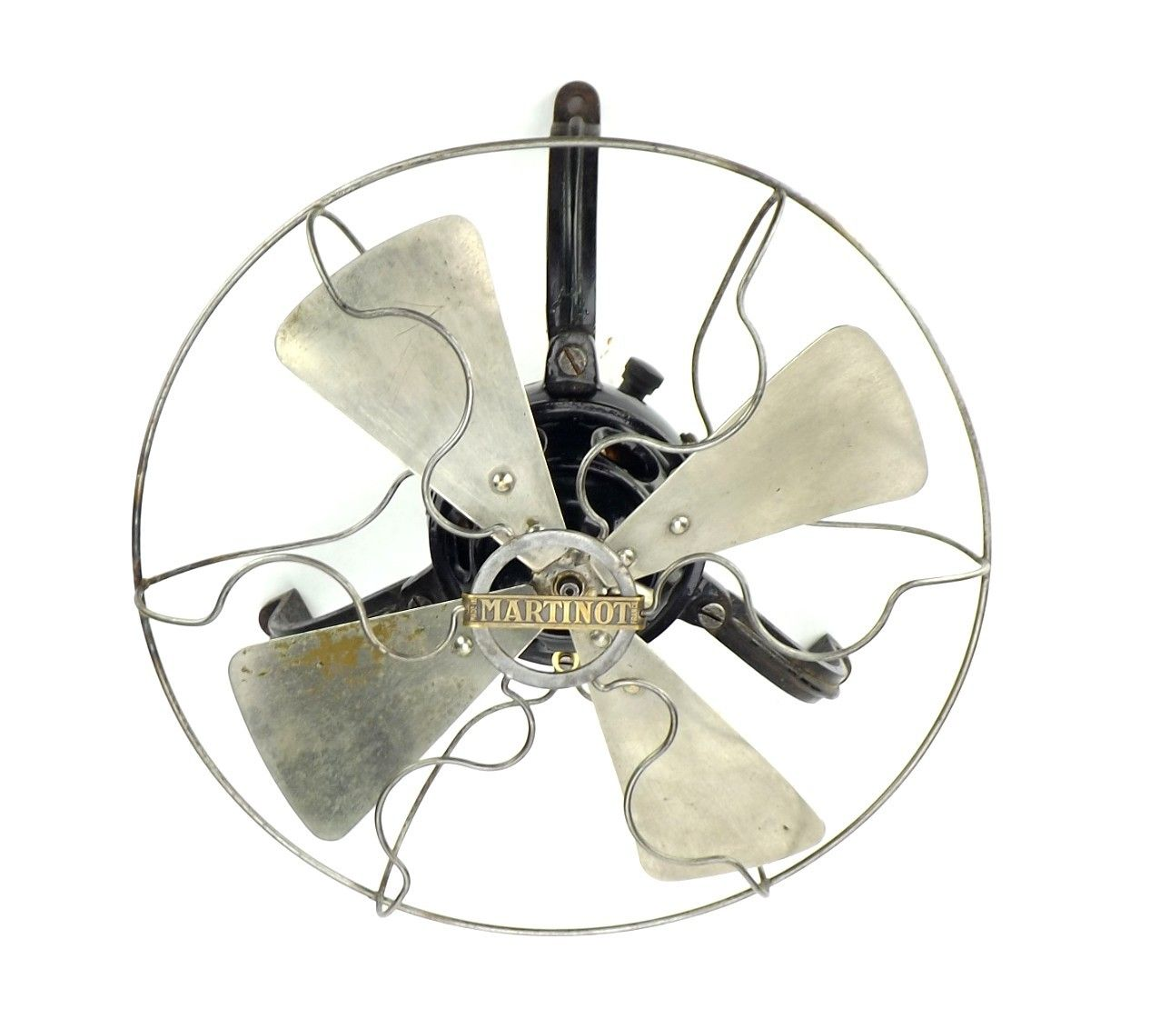 Circa 1910 10 Martinot Ceiling Fan Badged Thomson Houston Paris Ceiling Fan Fan Ceiling Fans For Sale