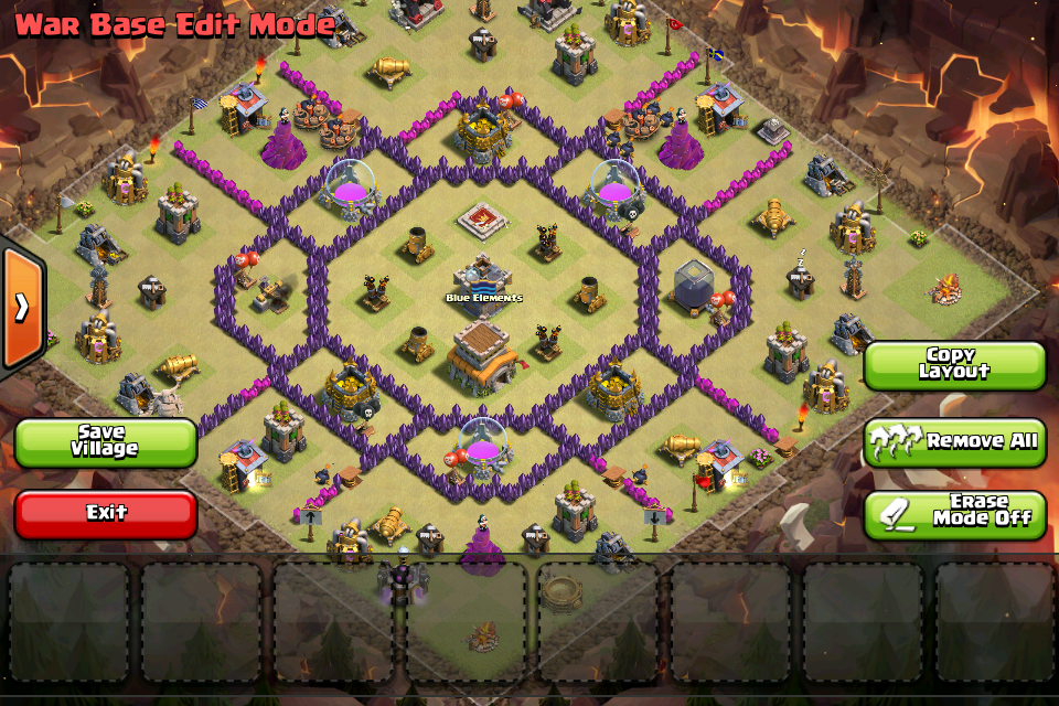 Th8 War Base Anti Drag N Hog Tata Letak