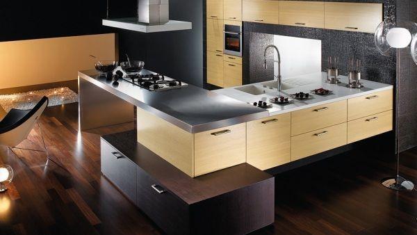 contemporary modern kitchen design ideas. u shaped kitchen design