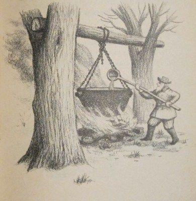 Little House In The Big Woods House Illustration Illustration