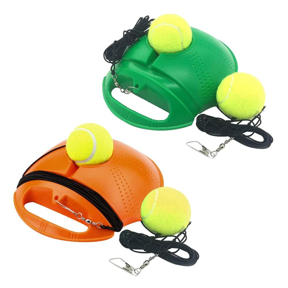 Buy Best 1set Self Study Tennis Trainer With Rebound Ball As Tennis Training Equipment Geekyviews In 2020 Swing Trainer Training Tools Rebounding