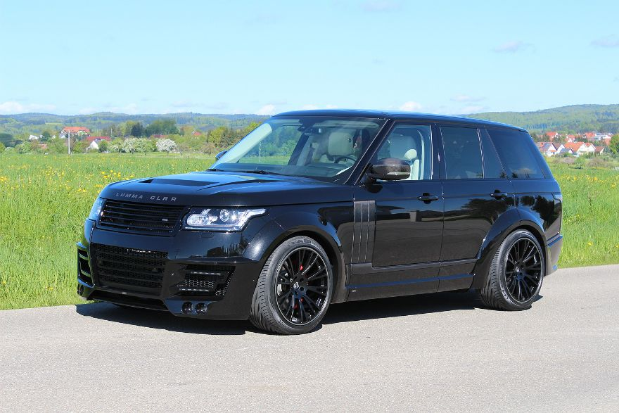 Range Rover Vogue 2013 LUMMA CLR R Black (photo 1) Range