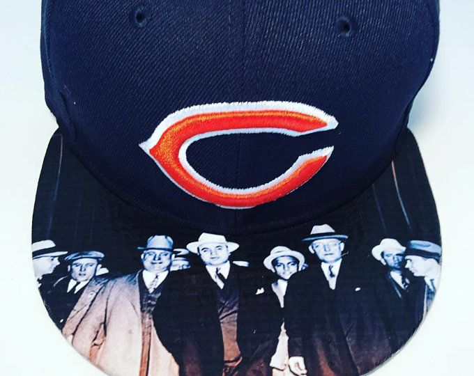 e9ab904d12f SPORTS Fan CUSTOM HATS Chicago Bears Authentic New Era