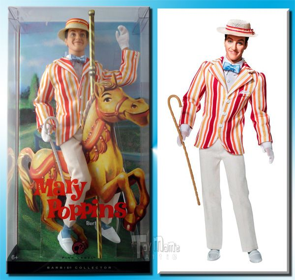 Toys For Mary Poppins : Mary poppins toys barbie collection bert