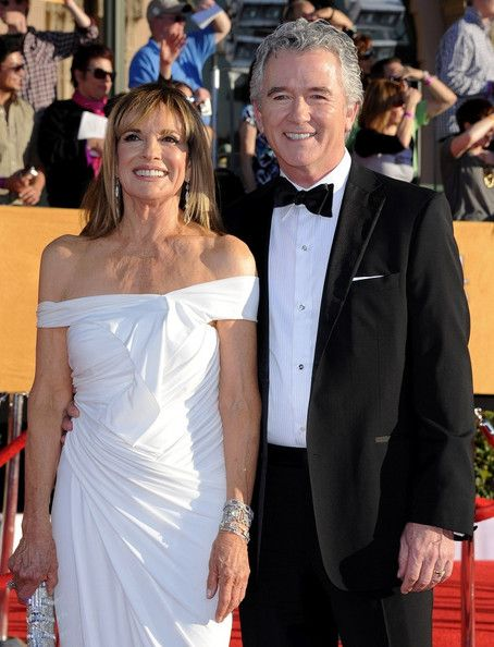 Patrick Duffy, Linda Gray  18th Annual Screen Actors Guild Awards.Shrine Auditorium, Los Angeles, CA.January 29, 2012.