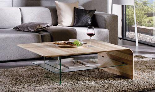Couchtisch Modern Holz Rechteckig Spirit 1 By Martin