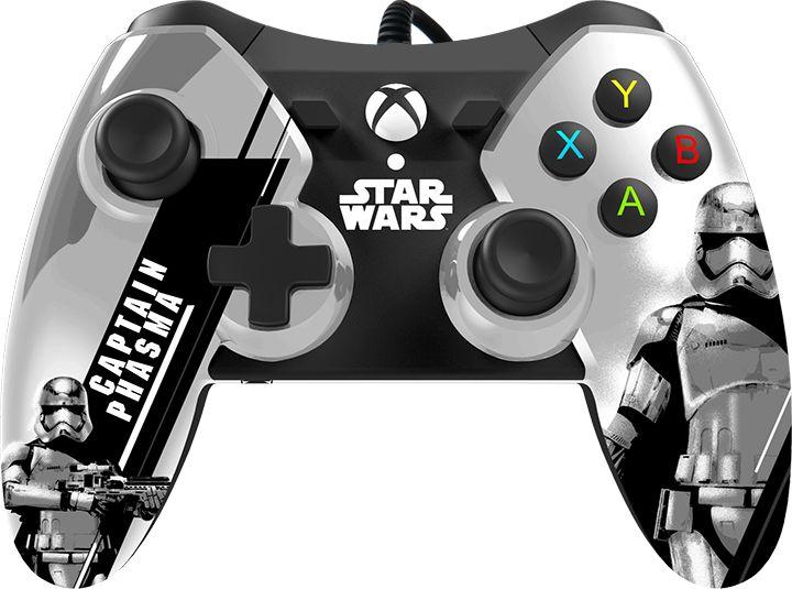Xbox One Star Wars Episode VII Wired Controller - Captain Phasma ...