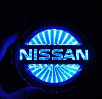 Genuine Rear Emblem Badge Logo for Nissan Frontier Navara D40 Pickup Truck logo
