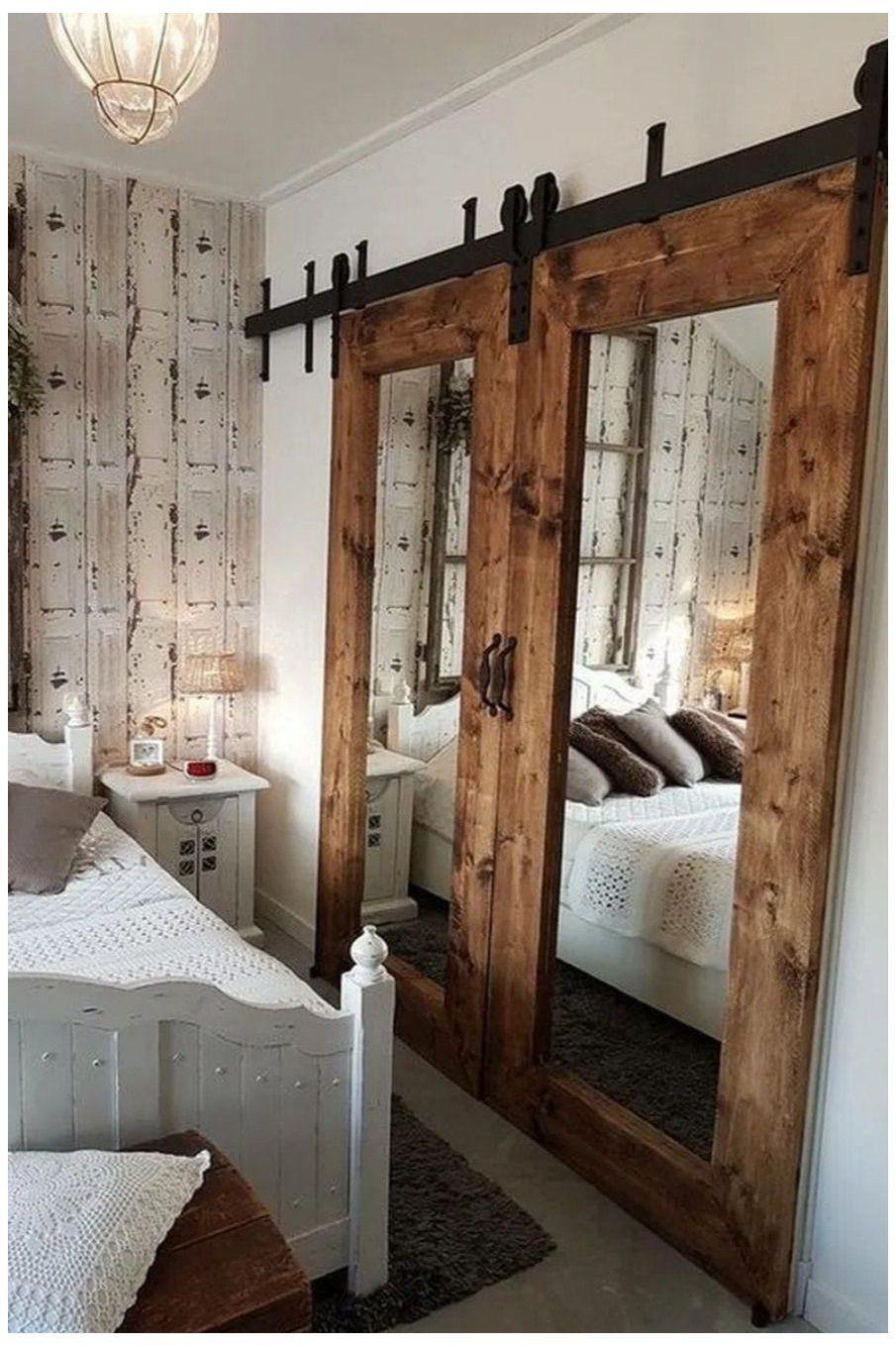 Cool Barn Door Closet Ideas You Can DIY barn door