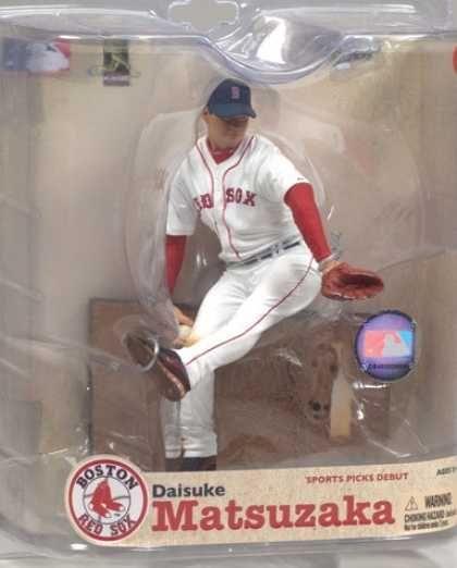 Action Figure Boxes - Baseball: Daisuke Matsuzaka