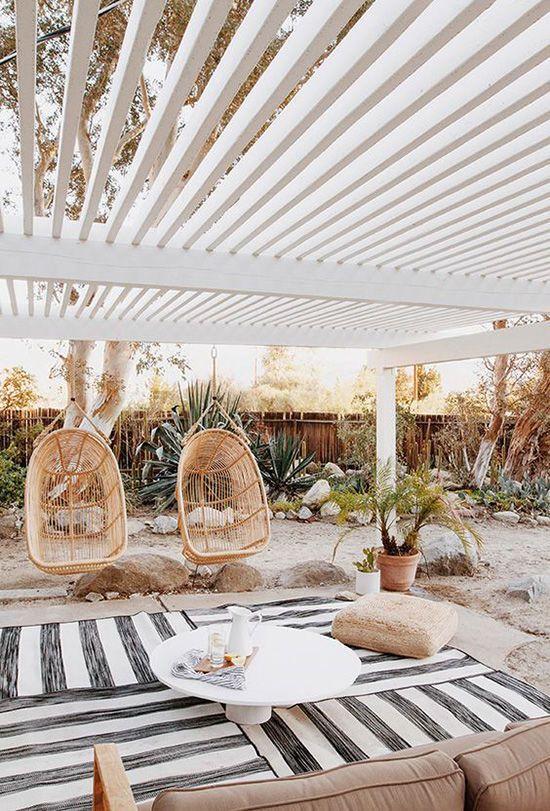 Boho DesignLoveFest outdoor living room furniture inspiration ...