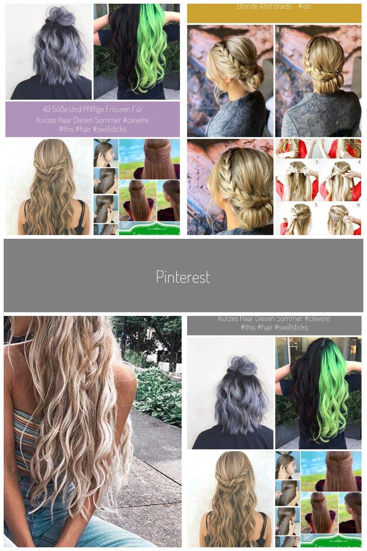 Photo of 40 süße und pfiffige Frisuren für kurzes Haar diesen Sommer #clevere #this #h…