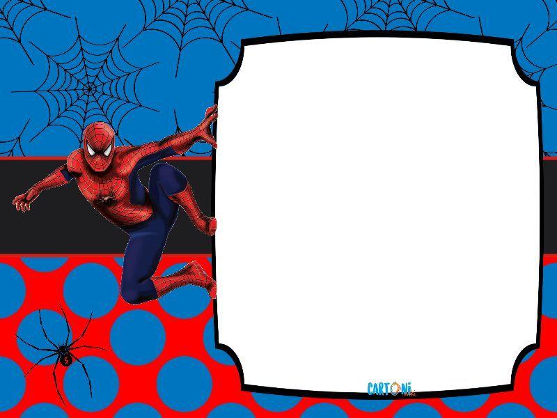 Spiderman Inviti E Aguri Cartoni Animati Inviti Di Compleanno Inviti Immagini
