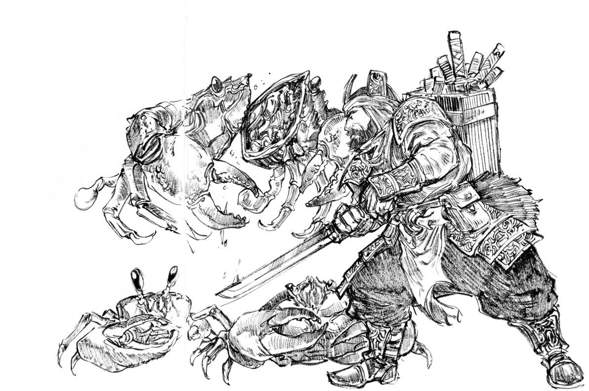 Seabugs, Peter Han on ArtStation at https://www.artstation.com/artwork/VDLl4