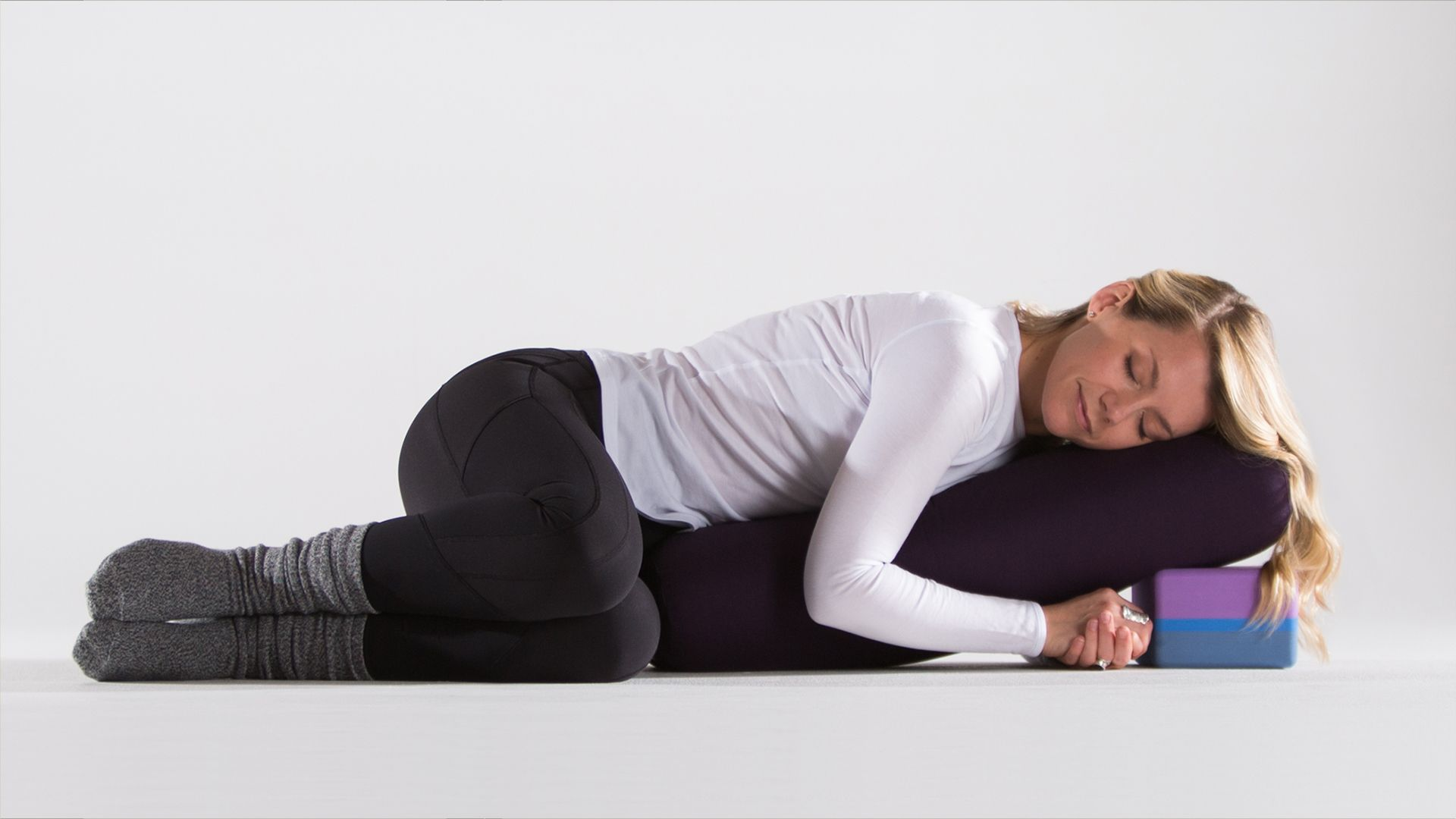 A Cozy Restorative Yoga Sequence For The Holidays Restorative Yoga Sequence Yoga Sequences Restorative Yoga
