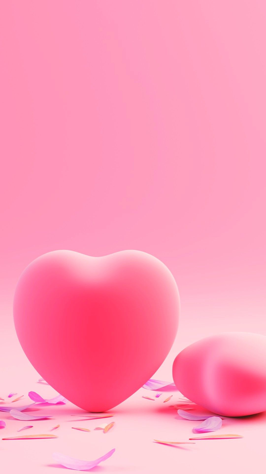 Pink Hearts Love Hd Wallpapers 1080x1920 Pink Wallpaper Iphone Aesthetic Iphone Wallpaper Pink Heart Iphone heart wallpaper hd 1080p free