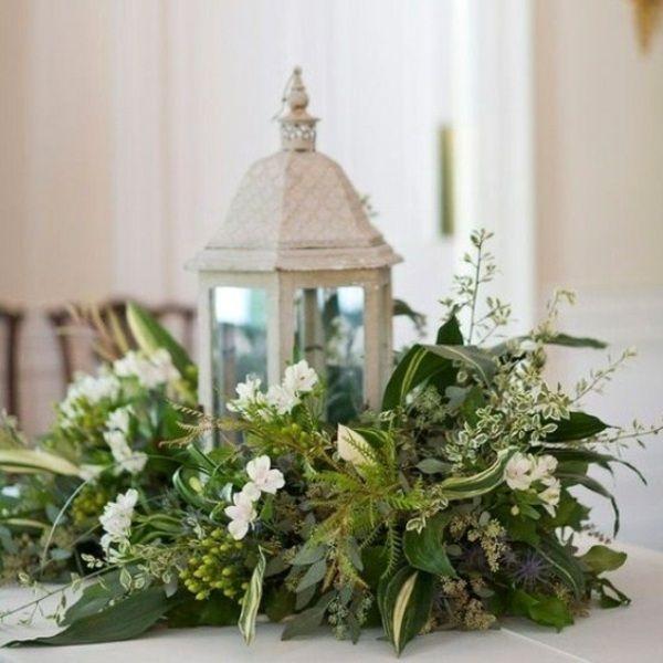 Tischdeko naturmaterialien herbst  frische Tischdeko Weihnachten Naturmaterialien | Blumendeko ...