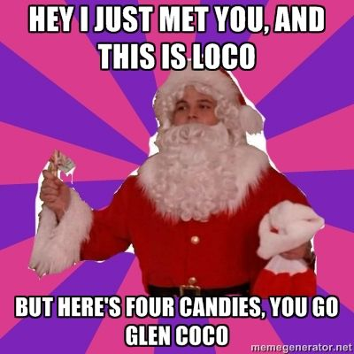 You go Glen CoCo!