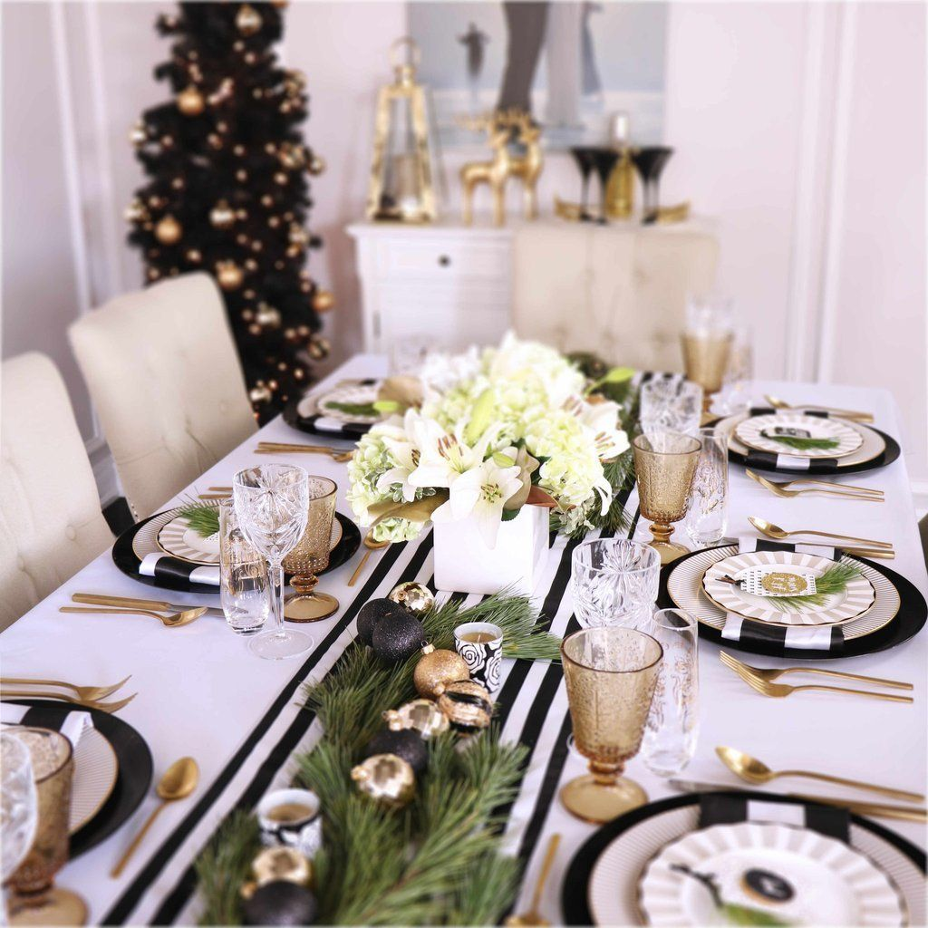 Top 5 Dining Room Ideas From The Best Designers In The Uk Modern Dining Tables Christmas Table Settings Christmas Table Christmas Table Decorations
