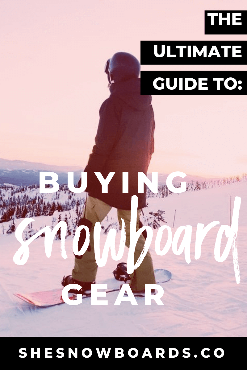 ef1da52daa First-time snowboarders to advanced snowboarders looking to buy new snowboarding  gear. Use this