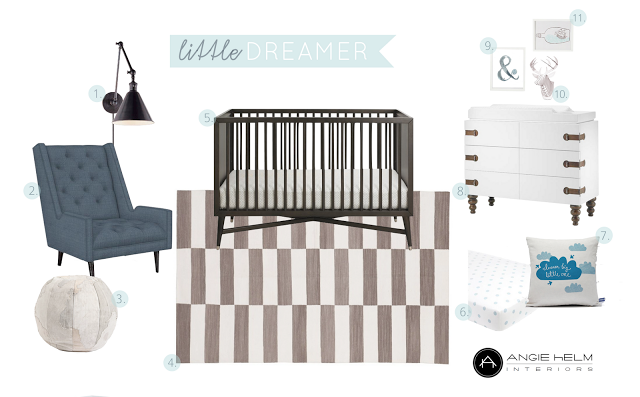 6th Street Design School | Kirsten Krason Interiors : Dream Nursery: Angie Helm Interior Design