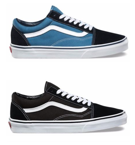 Details about New Vans Old Skool Classic CanvasSuede Black