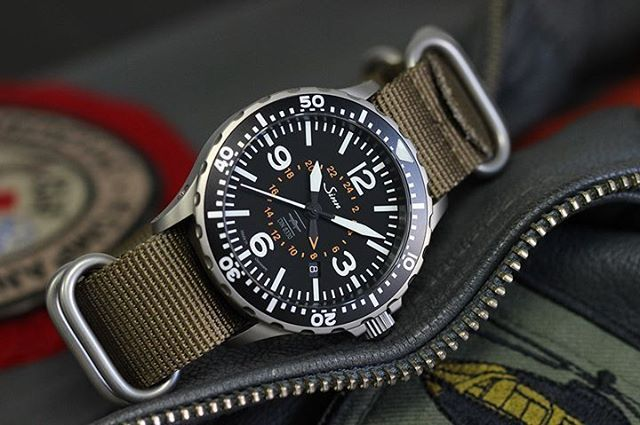 sinn 857 utc vfr horology pinterest watches military style