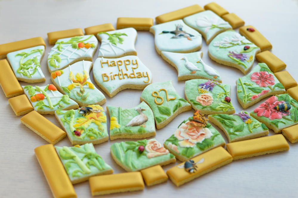 Cookie Garden Jigsaw Puzzle Cookiesaw | Cookie Connection