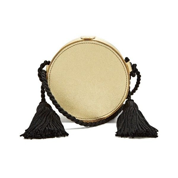 Tassel-embellished circle cross-body leather bag Hillier Bartley eO7Dvs9EC