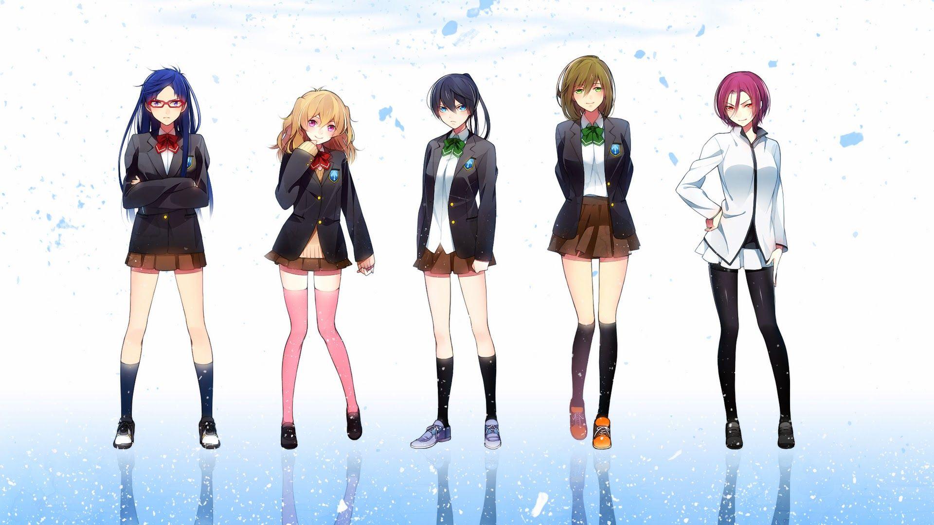 Boys And Girls Club Wallpaper Free Anime Iwatobi Swim Club