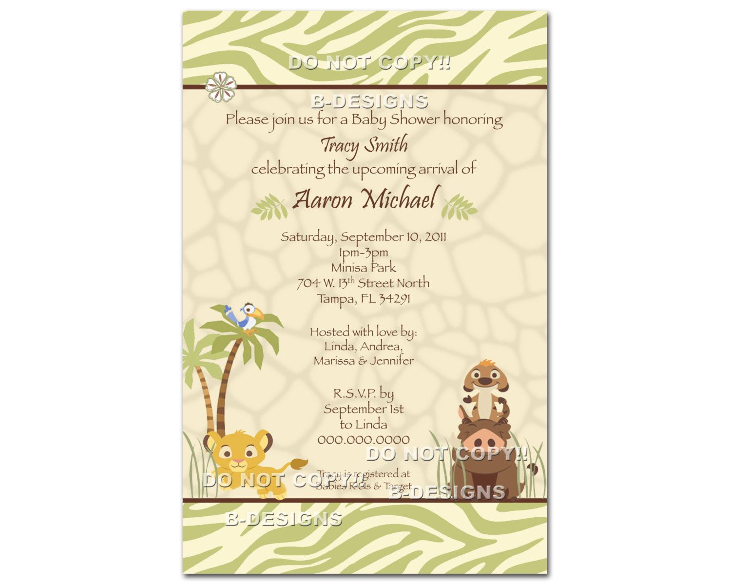 Oh my gosh, you guys!!!!!! Lion King Digital Baby Shower Invitation ...