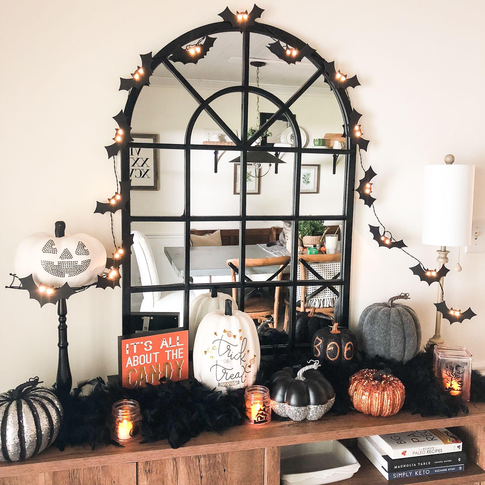 Fun and Easy Halloween Decor Beneath My Heart