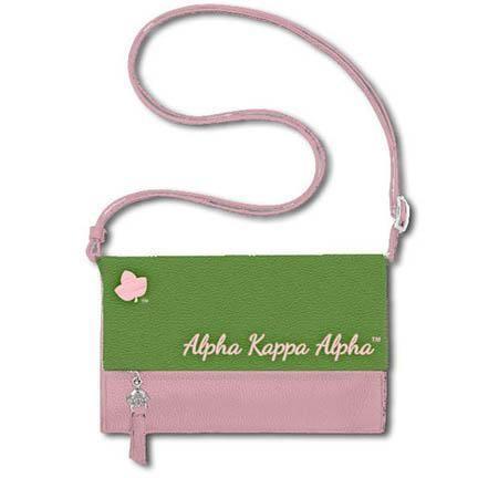 Alpha Kappa Alpha Crossbody Bag