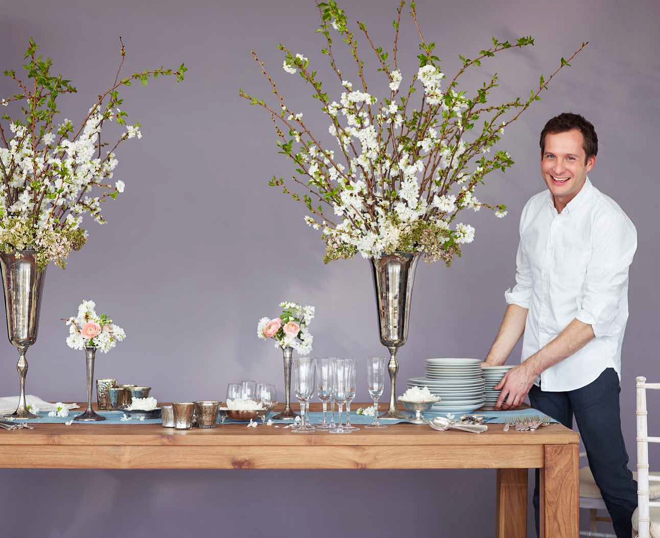 Centerpieces  Q & A with Matthew Robbins, author and Martha Stewart  Weddings contributor!