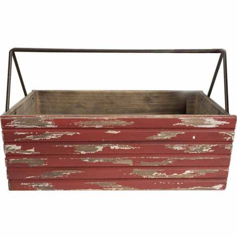 Red Shed Rustic Wooden Planter Box 16 1 7 In X 8 1 2 In X 6 In Tractor Supply Co With Images Wooden Planters Wooden Planter Boxes Planter Boxes