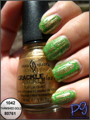 Polish Galore: China Glaze Tarnished Gold