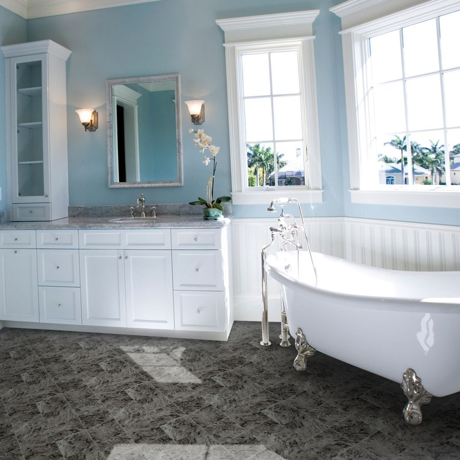 Shop IVC 13.167-ft W Kennedy 999 Tile Low-Gloss Finish Sheet Vinyl ...