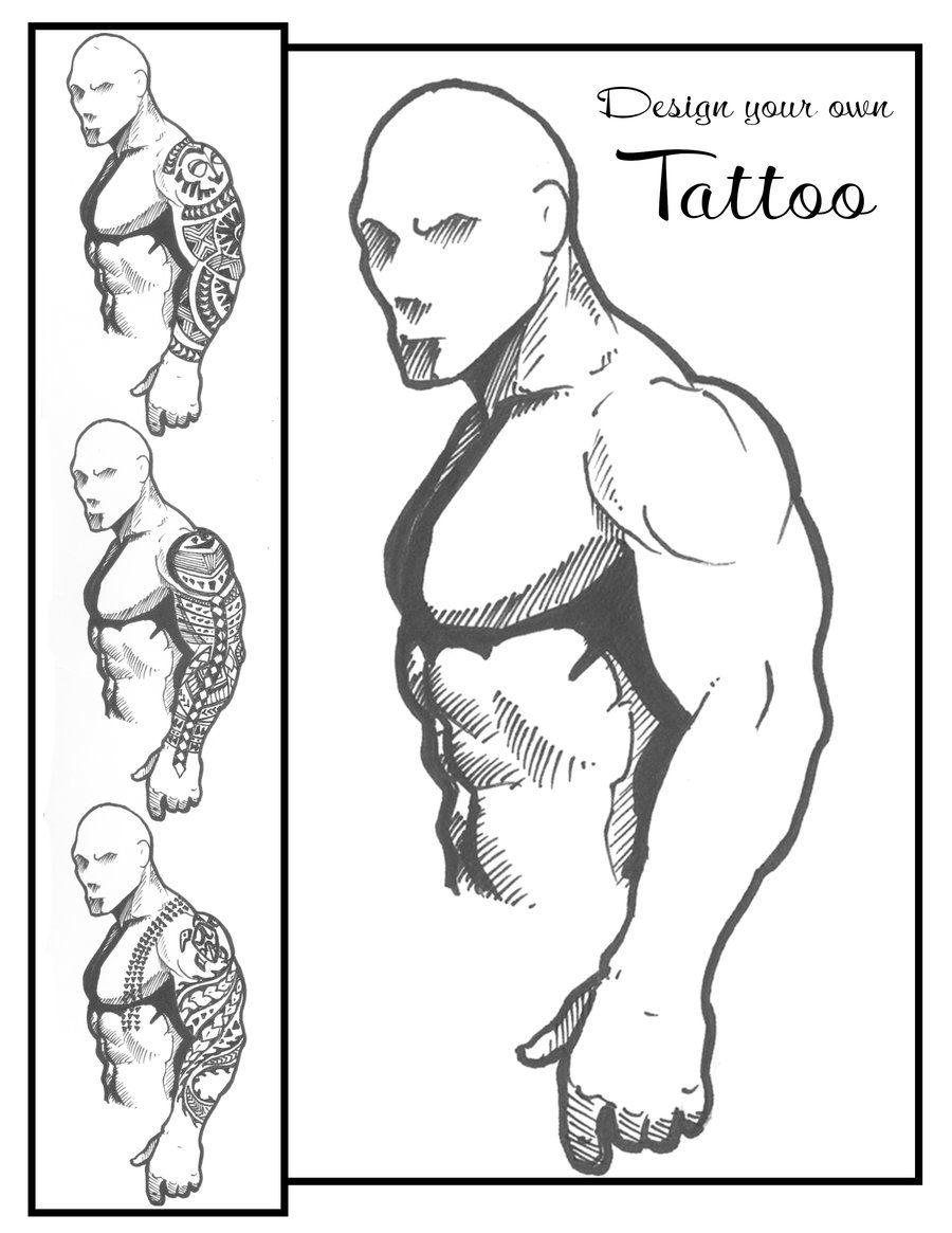 Tattoo Sleeve Template Tattoo Hawaiian Template Tattoo