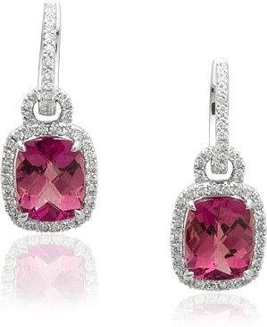 denise tourmaline gallery earrings betesh pink
