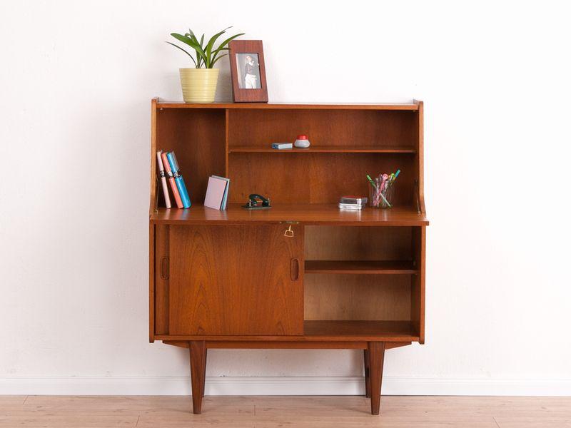 60er sekret r teak kommode anrichte von mid century friends auf cabinets. Black Bedroom Furniture Sets. Home Design Ideas