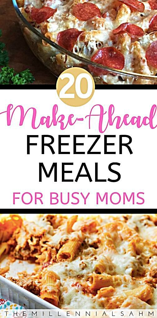Whether you're a new mom to be, or a busy mom looking to save time and money, these delicious freeze...