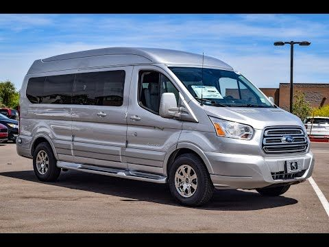 2016 Ford Transit T 150 Explorer Conversion Van Walkaround Youtube Ford Transit Van Ford Transit Camper