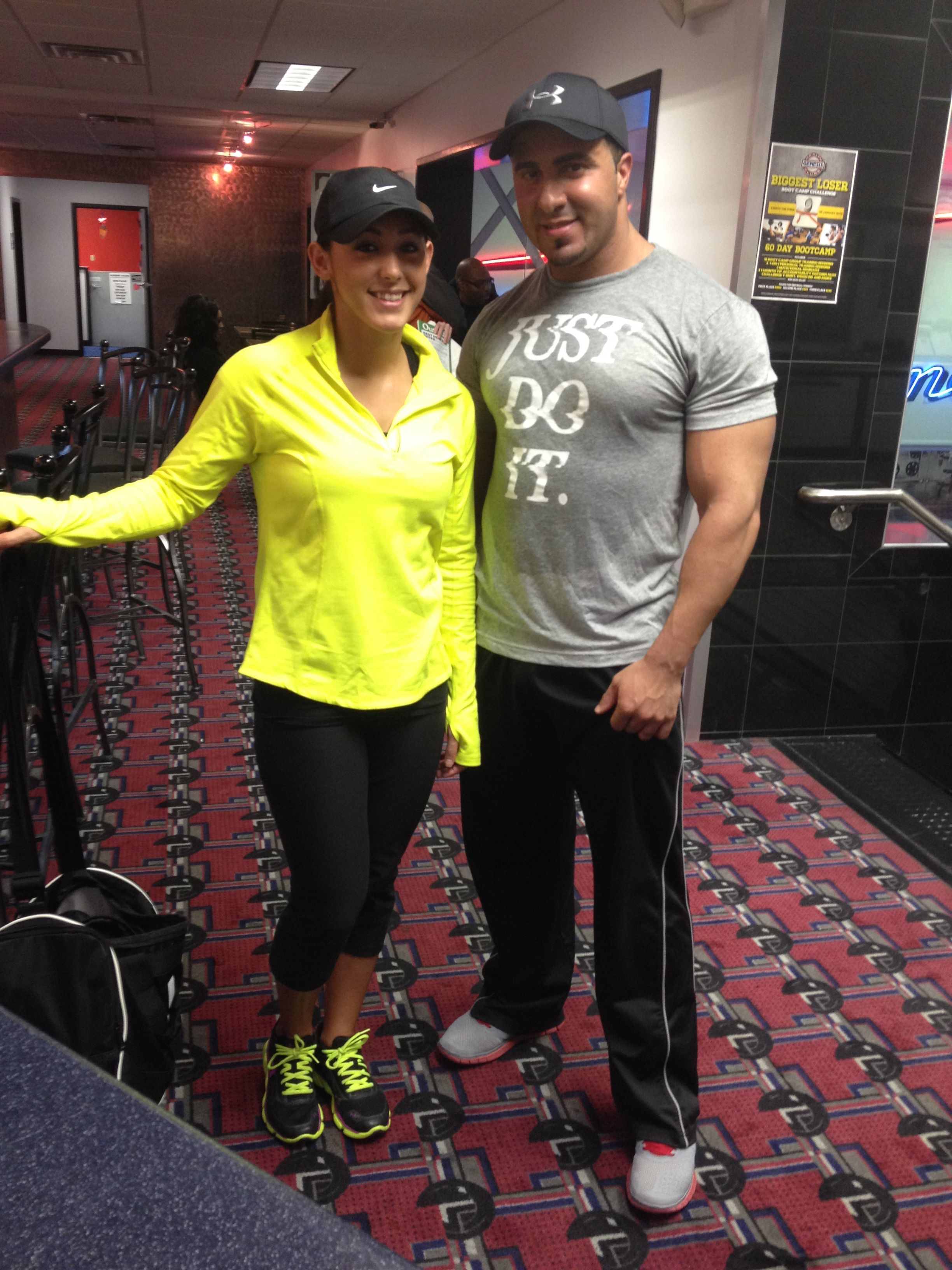 We Love Genesis Because We Love The Environment And The Friendly People Anthony Brittany E East Central Whyilovegenesis Style Health Club People